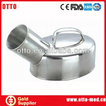 Stainless steel urine pot