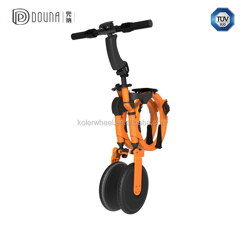 Bicycle Motorbike motor built-in the rear wheel and water proof IP54 foldable e bike