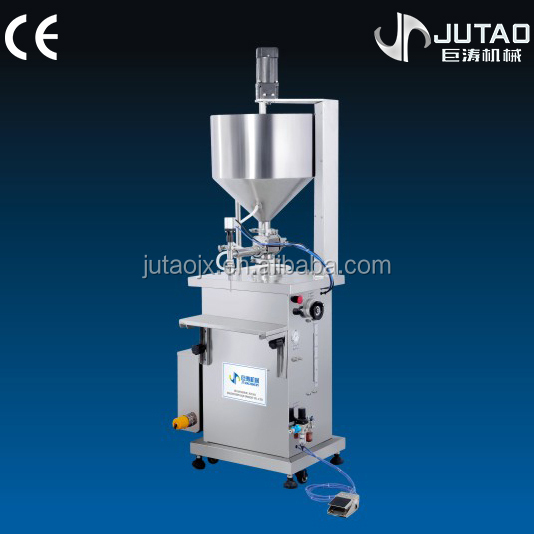 Semi-automatic latex filling machine with stirring function