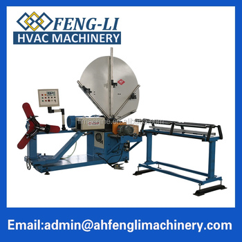 Special promotional round spiral tube making machine