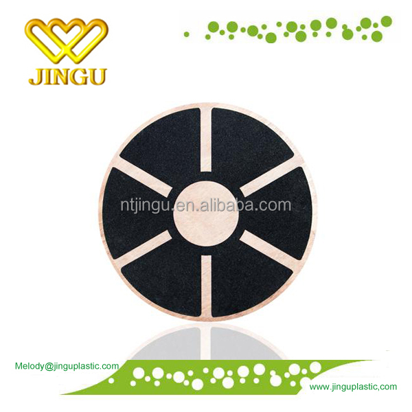 high quality wooden balance board, wooden balance disc
