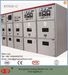 KYN28 electric switchgear switch cabinet for buildings