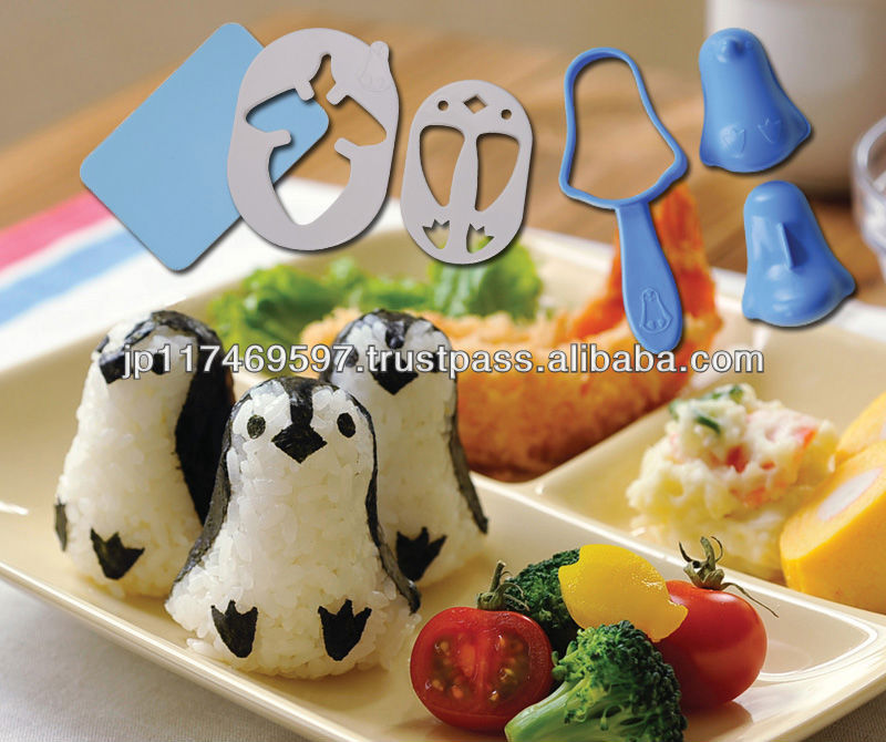 best cookware toys penguin cutter set animal rice ball