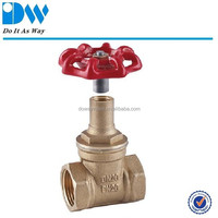 Brass Gate Valve witt Lock Handle