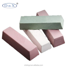 White or other color Solid polishing compounds/wax/bar for stainless steel or metal surface