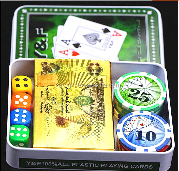 New product Gambling Pokers Customized India Playing Cards souvenir cards