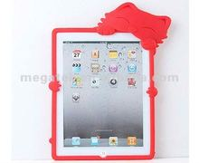 Tablet case cute cat silicone cover case for ipad 2 3 4, for ipad case air mini , for ipad cover silicone