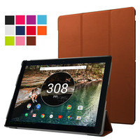 "Ultra Slim Magnetic Case Sleep / Wake Stand Leather Cover for Google Pixel C 10.2"" Tablet Case"