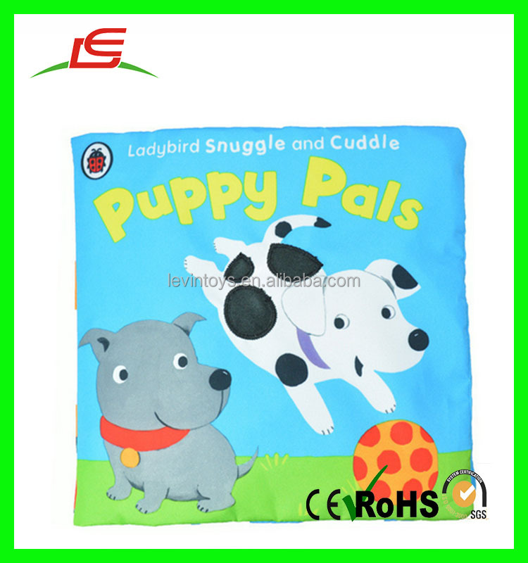 High quality wholesale educational soft toy baby cloth book for baby gift