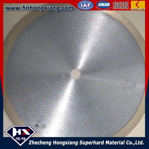 Rim diamond saw blade /wet glass cutting disc/ glass cutting wheel