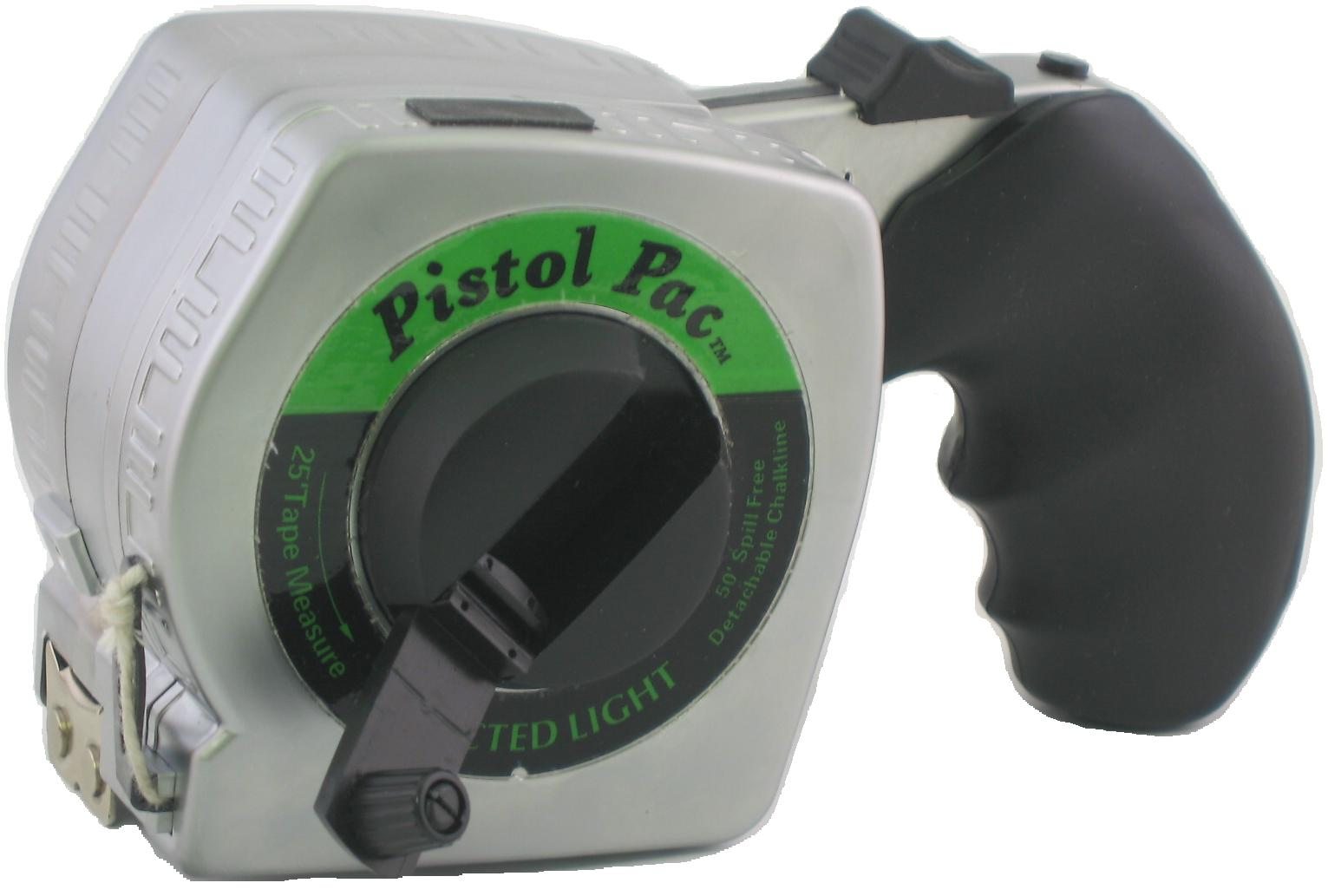 Pistol Pac-3 In 1 Tape Measure