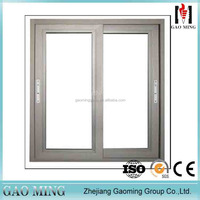 China supplier 2017 new products tempered glass sliding window grill design