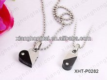 Wholesale fashion titanium /316L stainless steel pendant, heart shape pendants