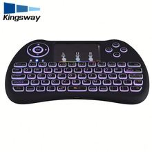 H9 Multimedia USB 104 Keys Wired Colorful Colorful backlight Metal Gaming Keyboard for Computer PC Laptop