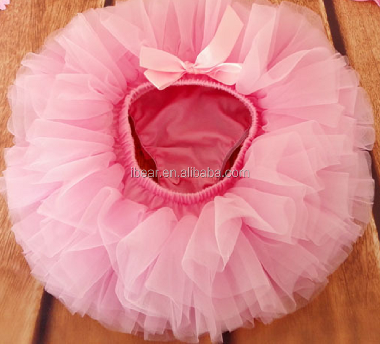 2015 Hot sales! baby pink wholesale lace ruffle tutu bloomers baby bloomers