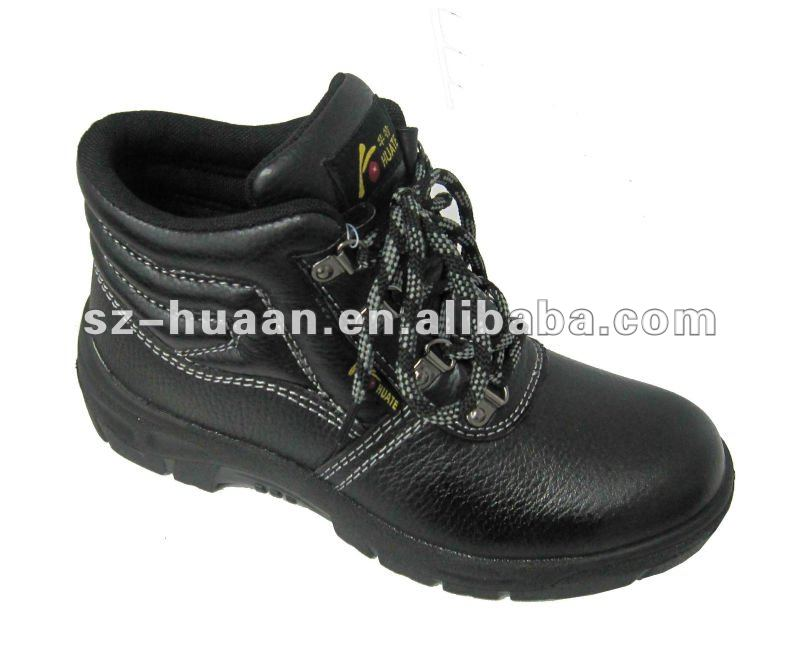 2012 Popular Indian buffalo leather safety shoes/industry safety shoes/fashion safety shoes