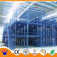 Warehouse mezzanine steel attic rack floor