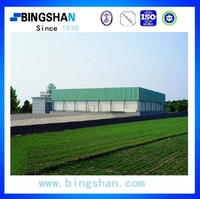 China supply Bingshan brand 900MT fish cold room with condenser and evaporators