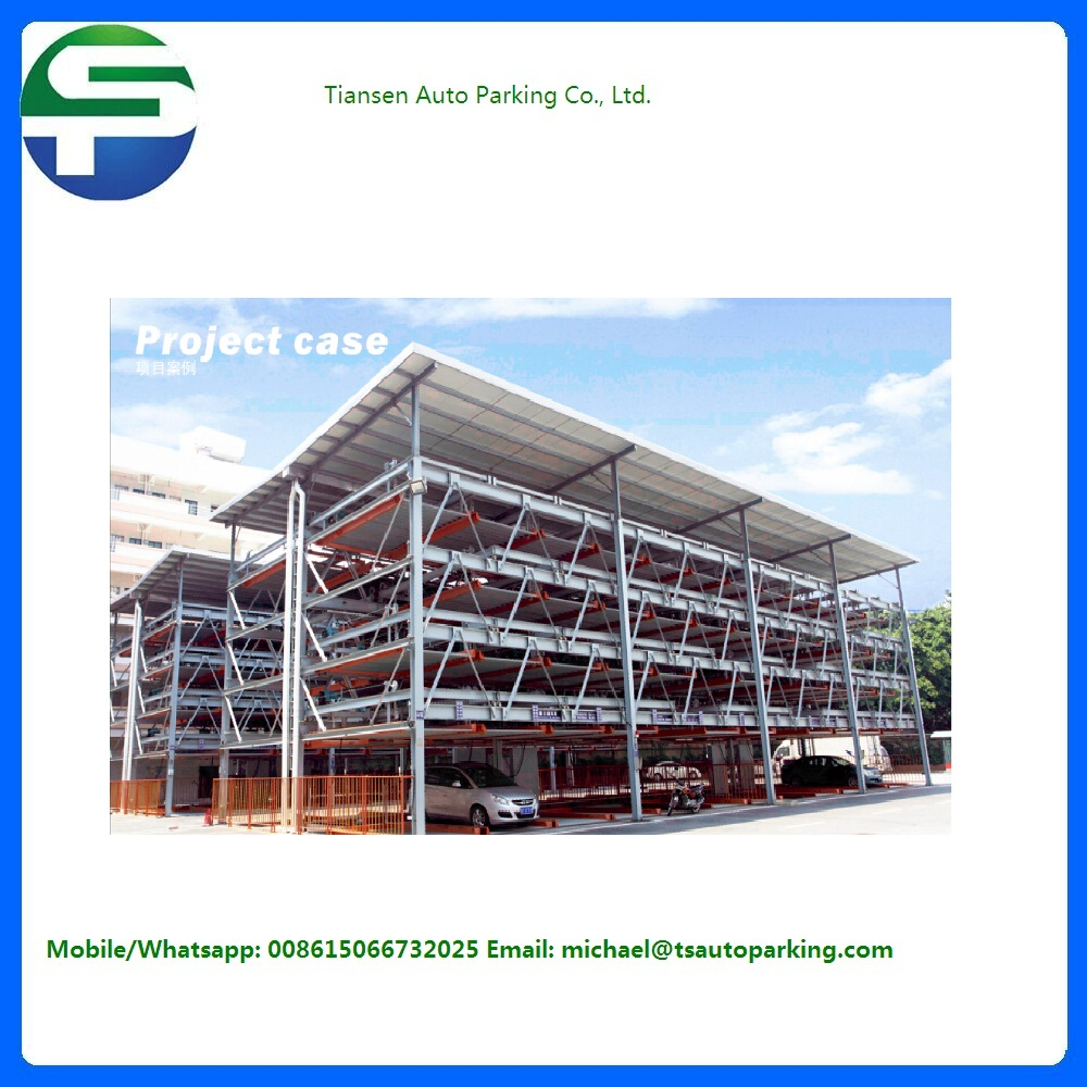 2017 popular department car lift CE approved multi level puzzle parking system