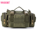 Wholesale high quality outdoor army camouflage tactical waist pack cycling travel mountaineering waist bag for men