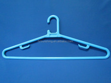 Retail colorful transparent plastic hanger