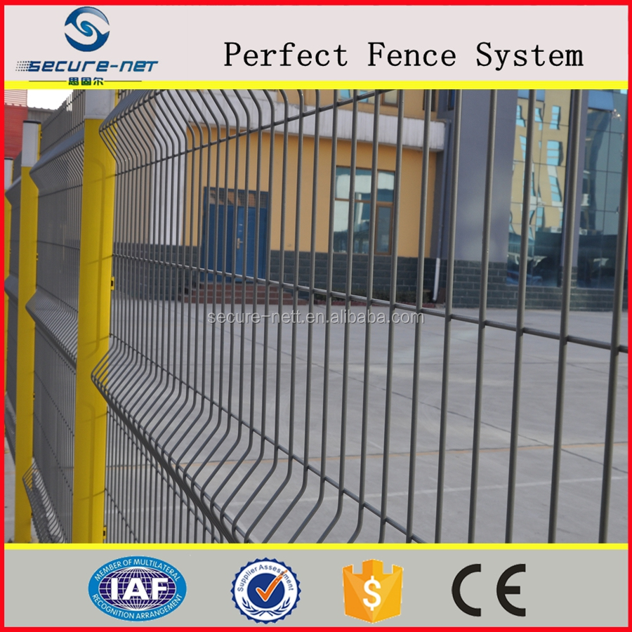 factory supply high quality 3D welded wire msh fencing for many boundary
