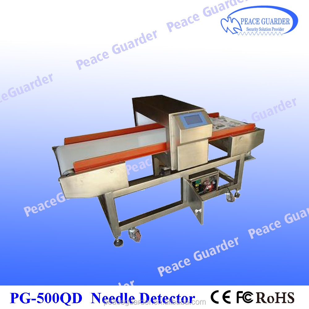 Best needle detector machine Industrial Detector for food with high sensitivity PG500QD