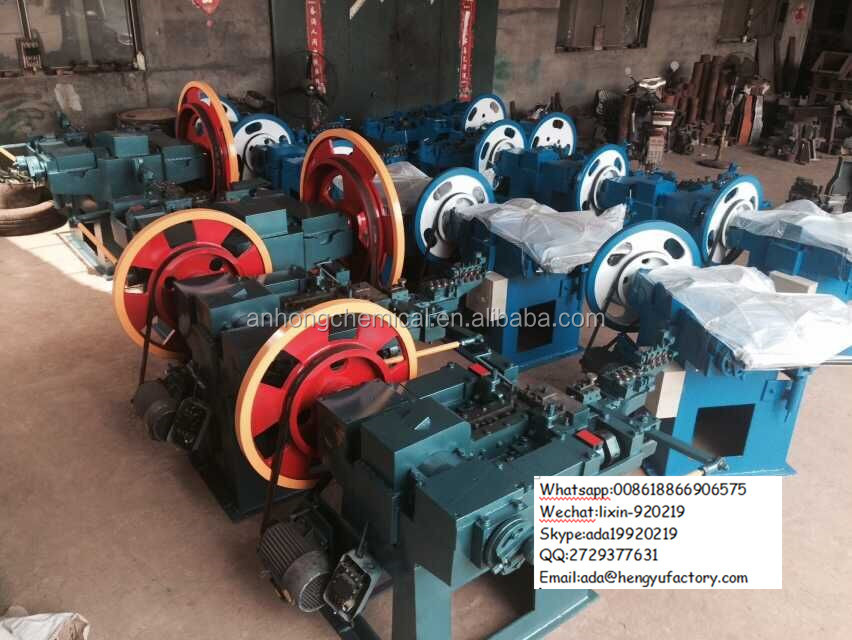 China Supplied Wire Collated Coil Z94 Nail Making Machine/Equipment/Production Line