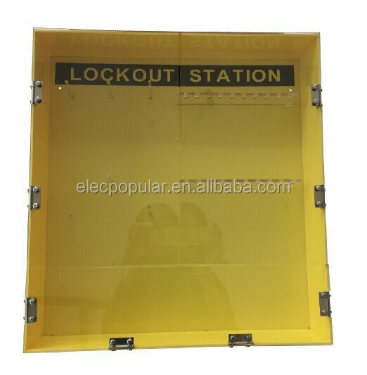 wall mounted metal multiple safety loto kit manufacturer