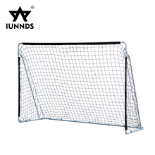 Best price 10ft steel tube outdoor square soccer ball stand football target goal