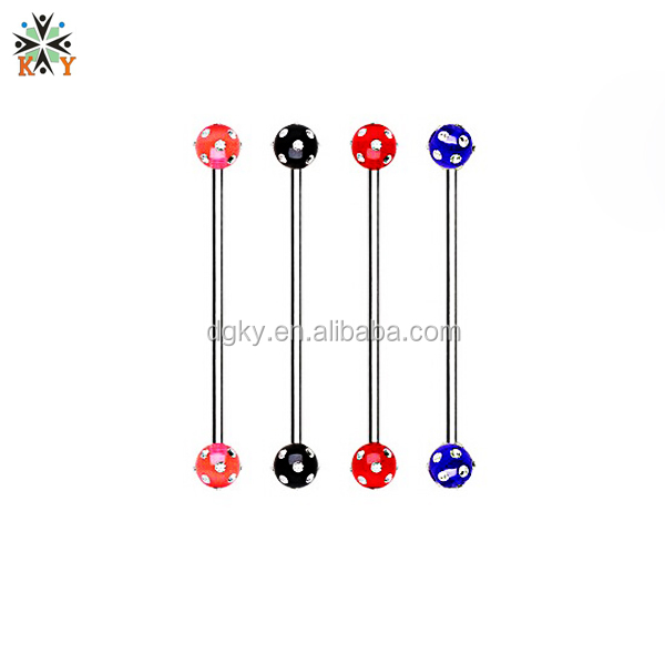 High Quality Fashionable Antiallergic Plastic Barbells