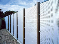 perforated metal sheet for noise/sound barrier wall(manufacturer)