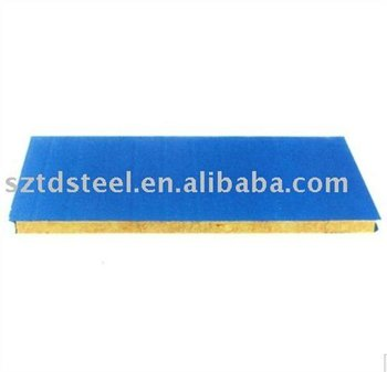 Rockwool sandwich panel for roof