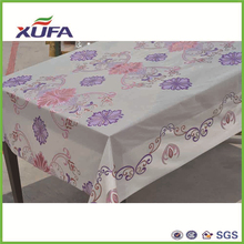 XUFA new design PVC waterproof high quality adhesive XUFA new design PVC waterproof ruffled table cloth film