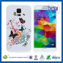 New 2014 Luxury Official Style silicon mobile phone shell for samsung s5