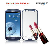 Mirror Screen Guard Protective Film for Samsung S3 Screen Protector