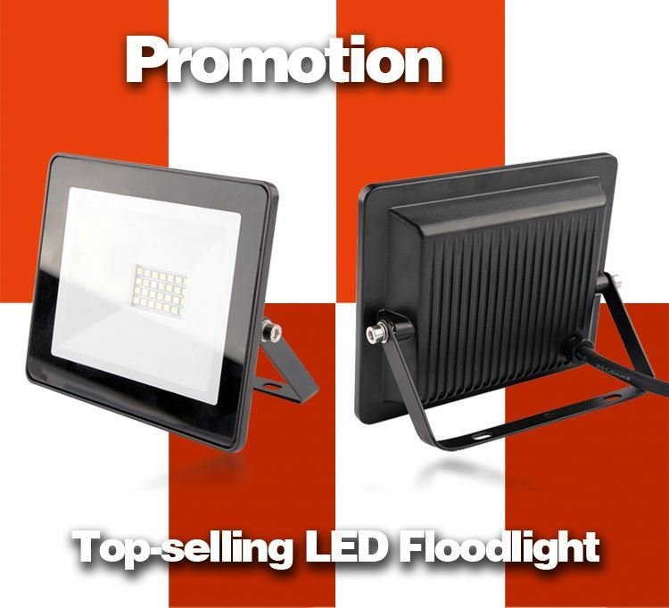 92644 customized led security pir floodlights ac 10w 20w aluminum with high waterproof