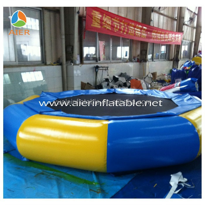Bungee jumping trampoline big bouncer/trampoline inflate