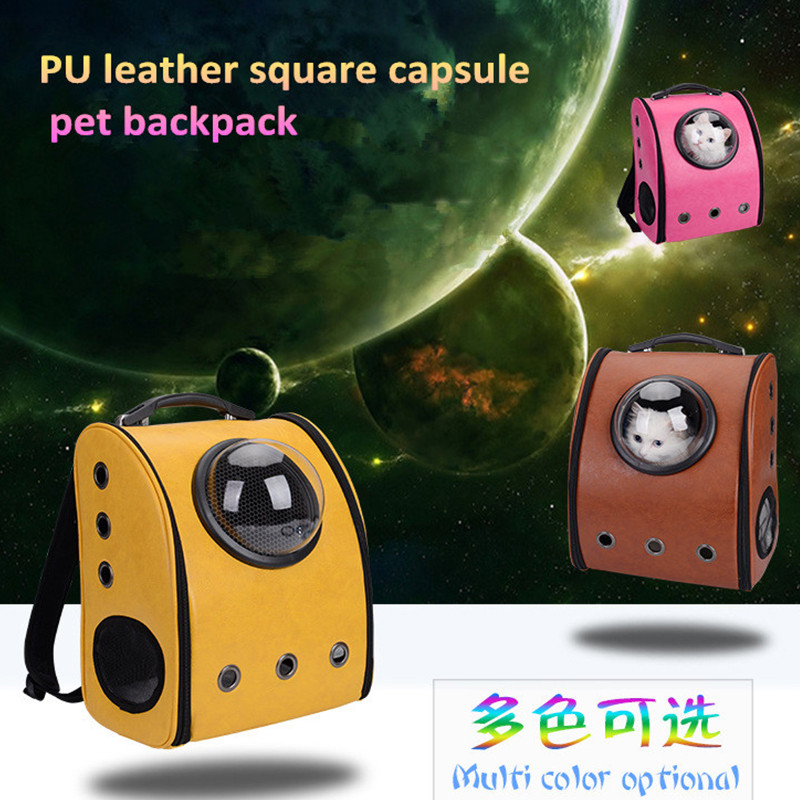 2017 new promotional pet backpack Dogs and Cats Portable Backpack