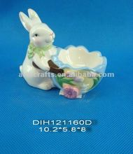 Ceramic Easter egg holder
