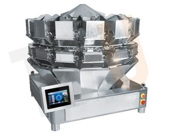 PLC 14 Head Vegetable Salad Weigher with 5 Litre hopper CE