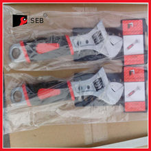 Adjustable wrench,spanner,pvc handle,good quality