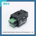 2 Pin Female Waterproof PBT GF10 Electrical Connectors Plug for Cars 1-967644-1