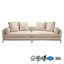 new product self assembly good classical designs half fabric sleeping sofa furniture