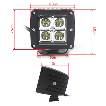 High quality 16w led work light magnetic base commercial electric led work light