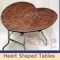 Heart Shape Table