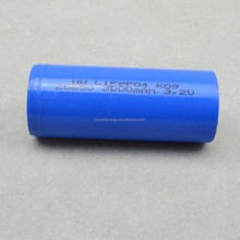rechargeable battery 3.2V 3000mah long time cycles power supply 22650 lifepo4 battery