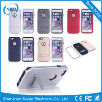 Shockproof 3 in 1 TPU PC Hybrid Slim Hard back case cover for iPhone 6