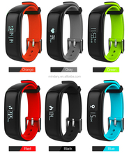 IP67 Waterproof P1 Smart Bracelet With Blood Pressure Monitor