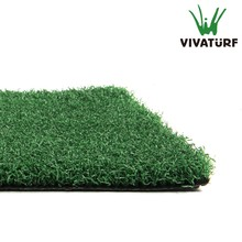 VIVATURF 13mm thick PE green synthetic grass for mini backard golf putting green